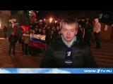 18 03 2014 Донецк Харьков Противостояние противников и сторонников новой власти - YouTube